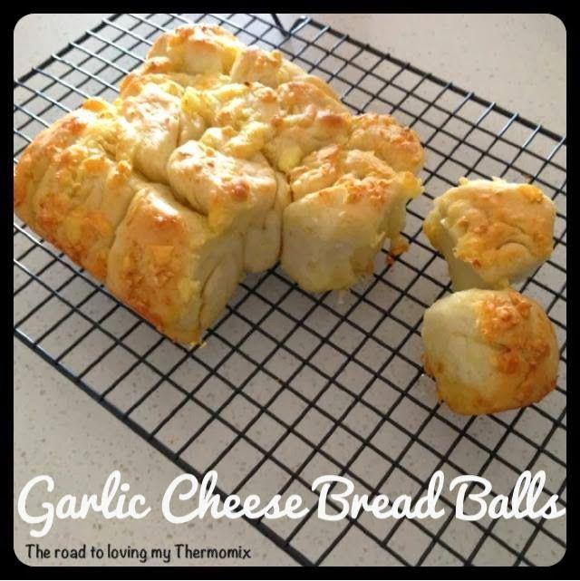 Garlic Cheese Bread Balls - Thermomix