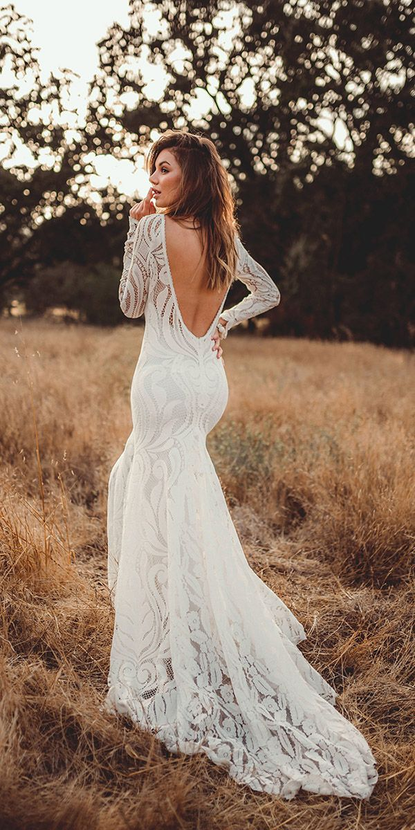 15 Lovers Society Bohemian Wedding Dresses 1