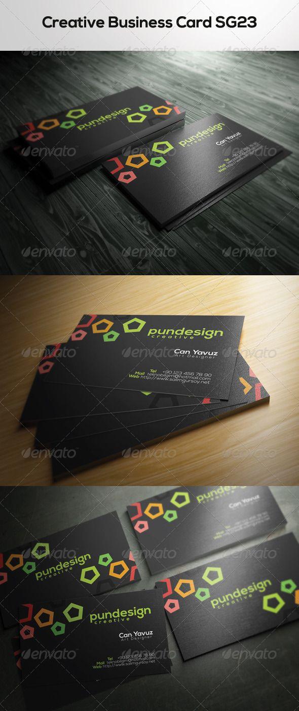 Creative Business Card SG23