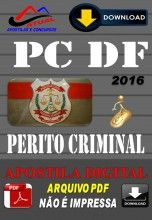 Apostila Digital Concurso Policia Civil PC DF Perito Criminal 2016