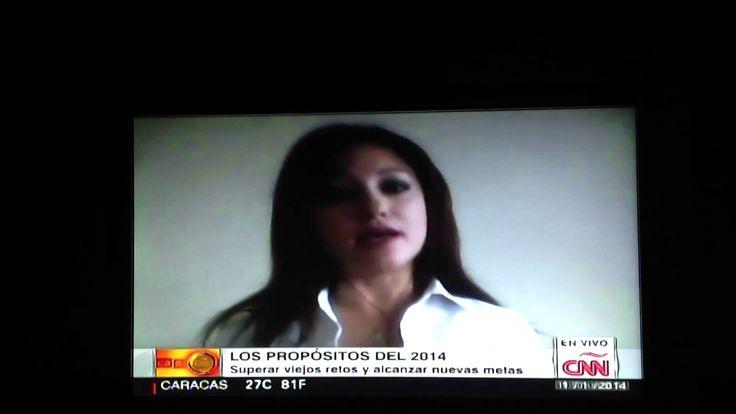 Conoce algunas claves esenciales para lograr tus metas. Te las digo en esta entrevista que me hizo Glenda Umaña CNN en Español. Heiddy Sulbarán. Life Coach