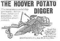 Hoover Potato Digger 1908 Ad Picture
