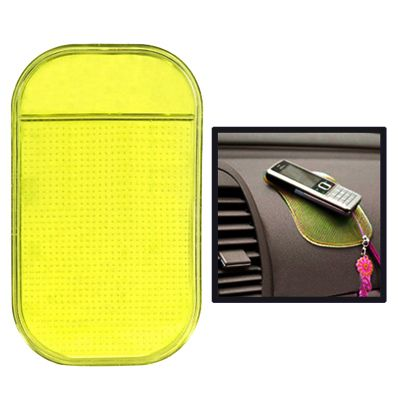 [$0.61] Car Anti-Slip Mat Super Sticky Pad for Phone / GPS/ MP4/ MP3(Yellow)