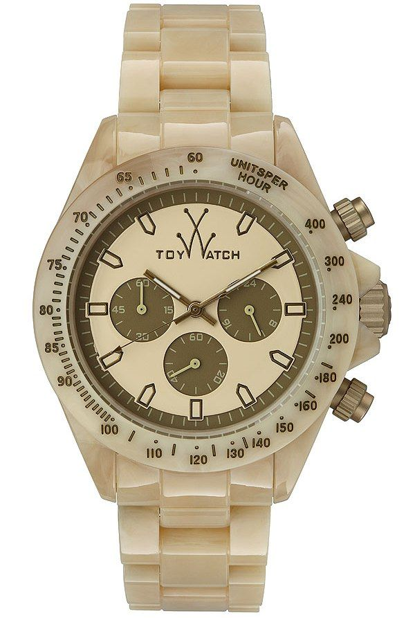 $100 ToyWatch Imprint Horn Chronograph Unisex Watch