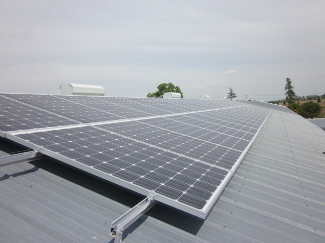 Grasshopper Solar | Seaforth 9.87kW Barn Roof Flush Mount Solar Panel System