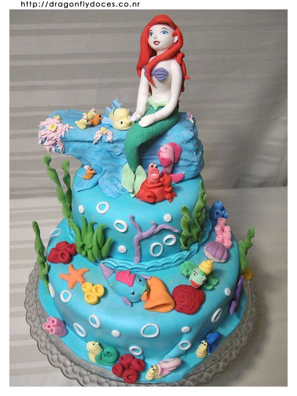 204 best Disney Princess Cakes images on Pinterest Cakes Disney