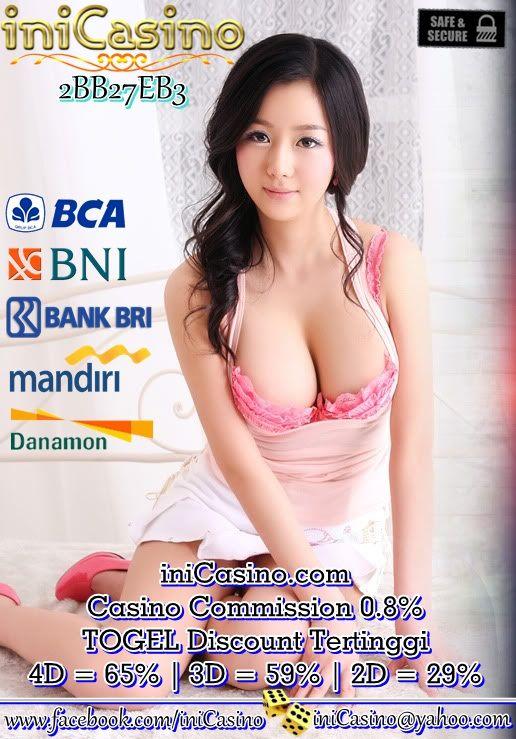MINIMAL DEPOSIT DAN WITHDRAWAL 50rb Untuk Info pendaftaran, silakan hubungi kami di : iniCasino.com YM : iniCasino@yahoo.com PIN BB : 2BB27EB3 WeChat : iniCasino SMS Only : (+855) 966332761