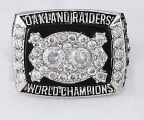 Oakland Raiders 1980 Super Bowl Championship Ring