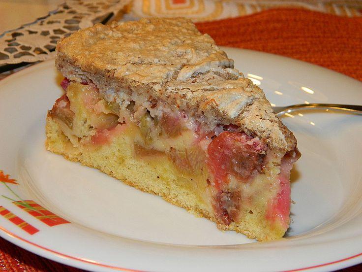 Rhabarberkuchen von Omma (Rezept mit Bild) von Sören24 | Chefkoch.de