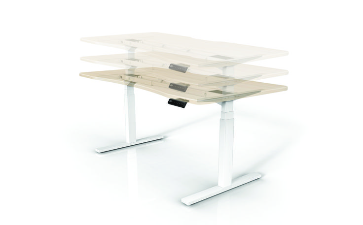 Sit Stand Desk - movement