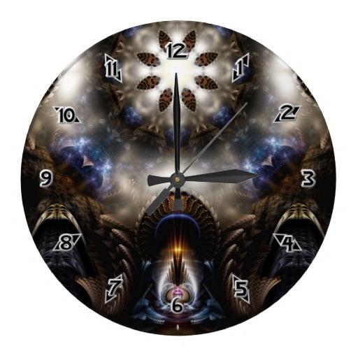 Star Dust Crypt Of Corland Wallclock $28.10 - Click Here http://xzendor7.com/xzendor7-wall+clocks.php