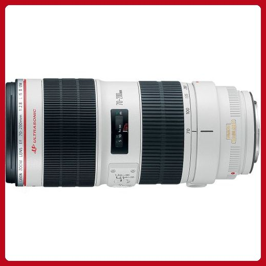 Canon EF 70-200mm f/2.8L IS II USM Telephoto Zoom Lens for Canon SLR Cameras - Photo stuff (*Amazon Partner-Link)
