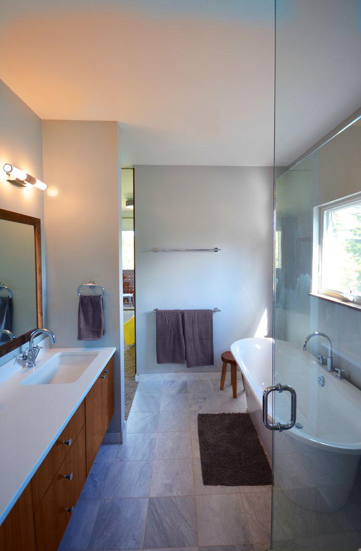 Bathroom vanities calgary ab - Hive Architecture X Line 014 Calgary Ab Master Bath