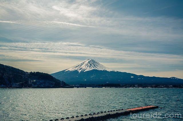 Mount Fuji in Kawaguchi Japan