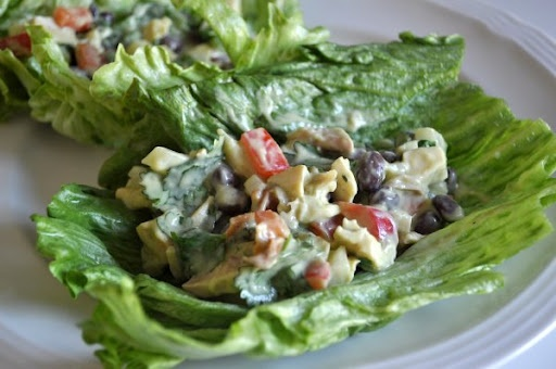 avocado lime dressing salad with avocado southwest chicken salads ...