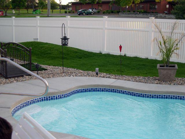 10 Best Vinyl Pool Fence Images On Pinterest Pool Fence