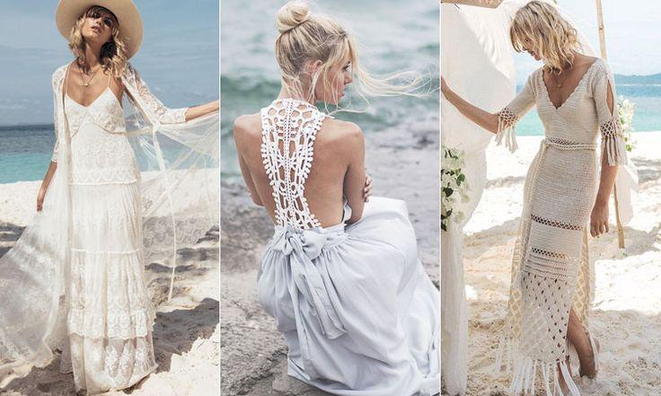 Летние свадебные платья бохо
