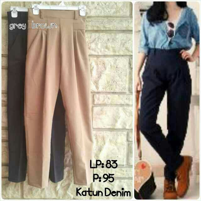 8220 pants IDR 76.000  https://www.tokopedia.com/felishabutik/celana-panjang-model-basic-kode-8220