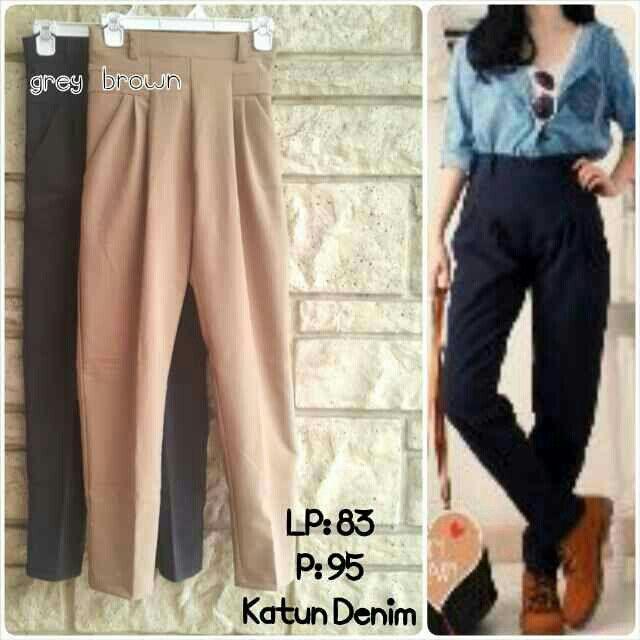 8220 pants IDR 76.000  https://www.tokopedia.com/felishabutik/celana-panjang-model-basic-kode-8220