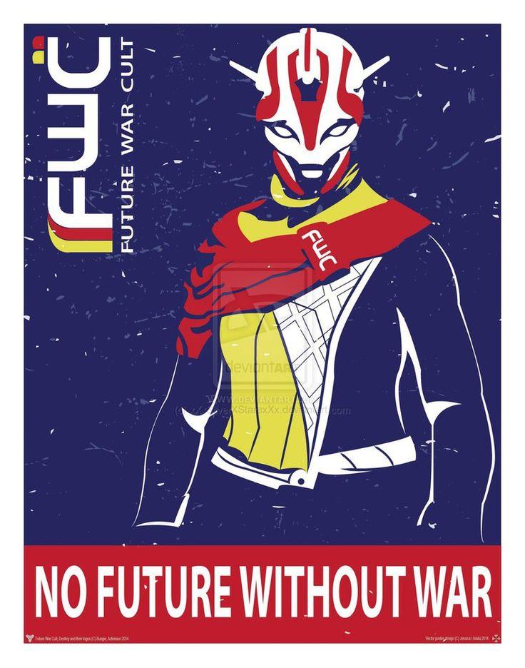 [Destiny] Future War Cult - Propaganda by xXxSilverXStarexXx