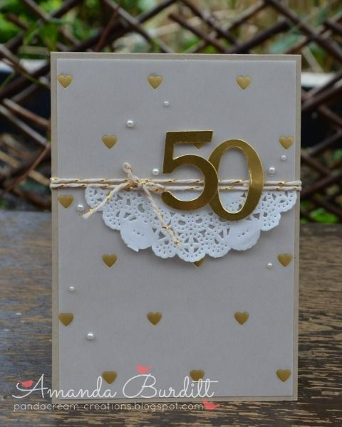 Best 25+ 50th anniversary cards ideas on Pinterest | Wedding ...