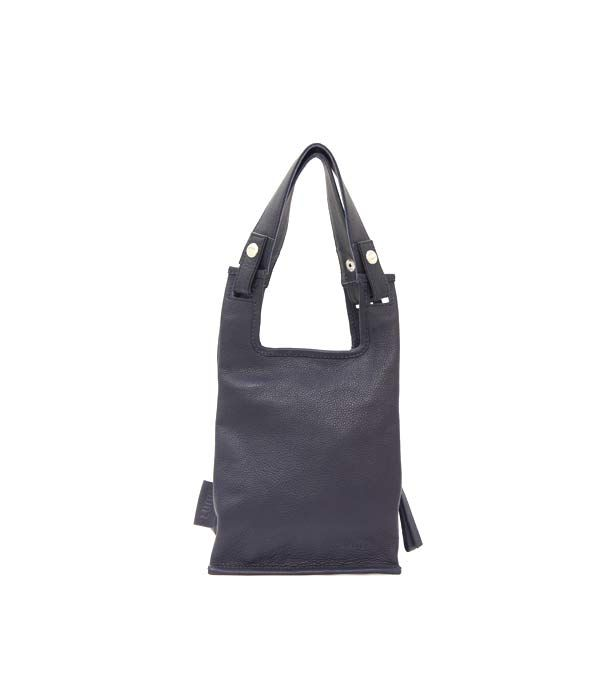 Supermarket Bag XS Navy | Lumi Accessories  www.shoplumi.com