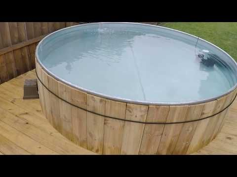 DIY Stock Tank Pool: Everything you need to know - YouTube