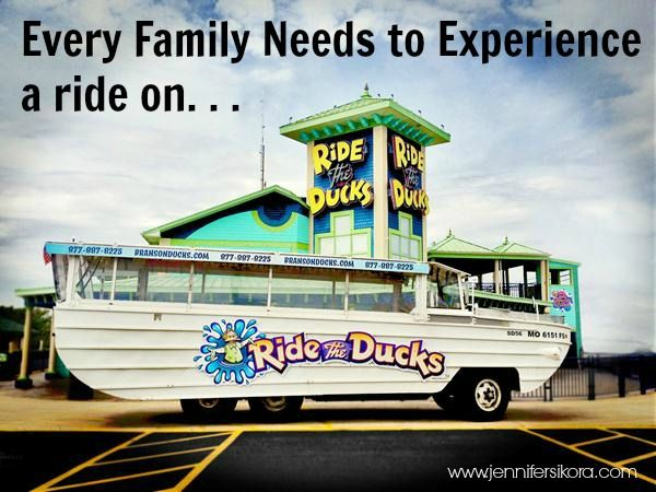 Go from Road to Water and Enjoy Table Rock Lake on Ride the Ducks in Branson, MO #exploreBranson #usfg #travel