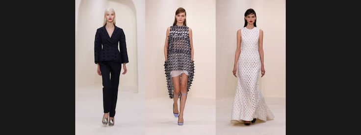 Мода-в-движении. В саду Музея Родена в Париже Раф Симонс представил коллекцию Dior Haute Couture весна-лето 2014