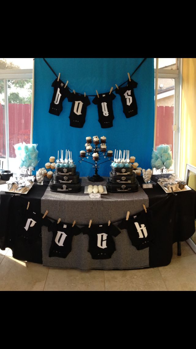 Boys Rock Baby Shower
