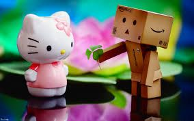 hello kitty wallpaper pink and black love - Google Search