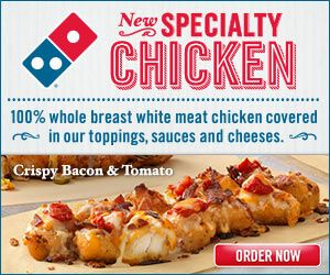 Dominos Coupons and Promo Codes 2014