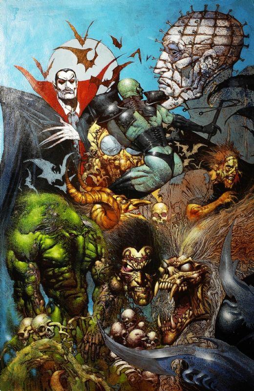Marvel Monsters by Simon Bisley