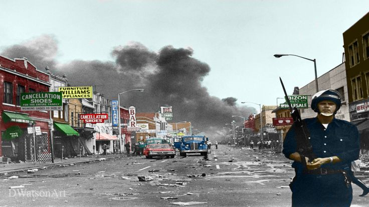 Chicago Riots Recolor 1968 Digital Recolor 1920x1080 Need #iPhone #6S #Plus #Wallpaper/ #Background for #IPhone6SPlus? Follow iPhone 6S Plus 3Wallpapers/ #Backgrounds Must to Have http://ift.tt/1SfrOMr