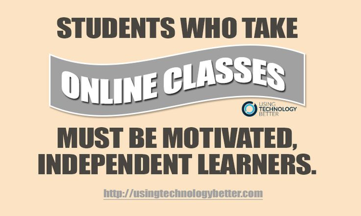 #Quote for #students who take online courses. #edtech #aussieEd #edu #usetechbetter