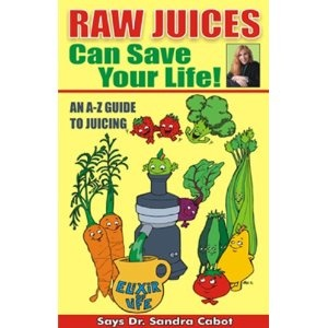 Raw Juices Can Save Your Life this was the first juice book I read still my favorite it has a section on each item you can juice and what it has in it and what can do for health. Her Liver book I followed about 8 years ago.