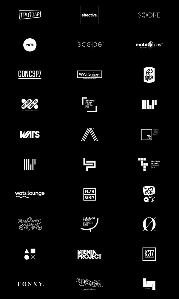 Logos by Miki Stefanoski