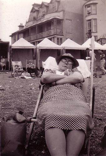 ''August Bank Holiday 1938 Teignmouth''  in the collection of TinTrunk