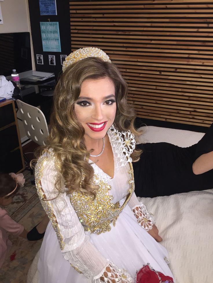 Albanian wedding, bride, make up, hair Albanian bride