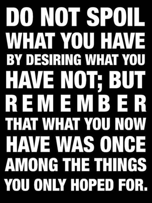 quotes about being materialistic | Tags: desiring for more , fulfillment quotes , inspirational quotes