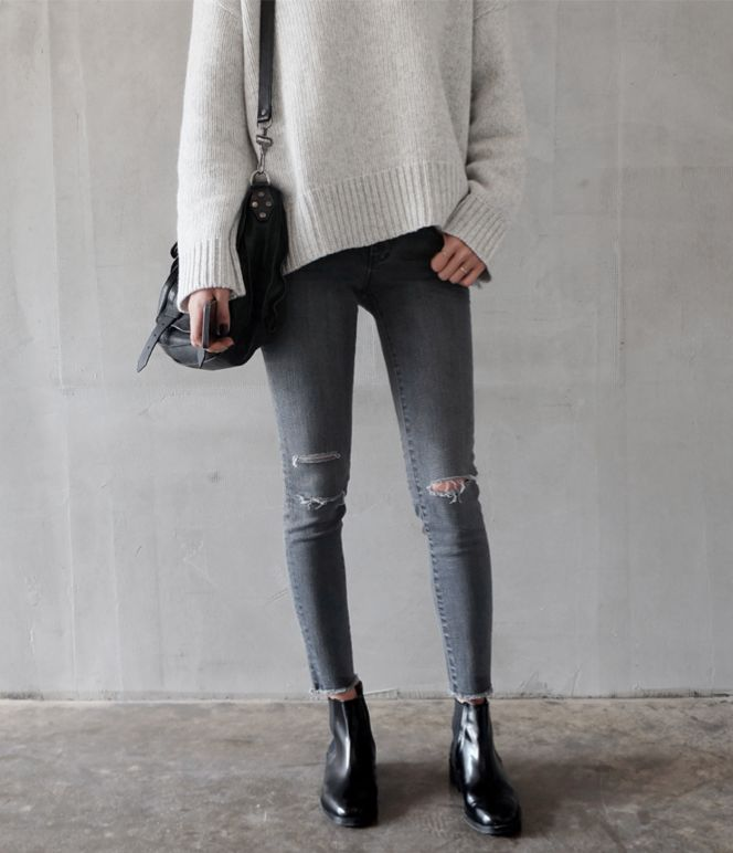 17 Best ideas about Chelsea Boots Outfit on Pinterest | Chelsea boots Oversized blazer and ...