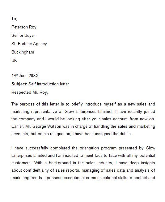 The 25 best formal business letter format ideas on pinterest 40 letter of introduction templates examples template lab spiritdancerdesigns