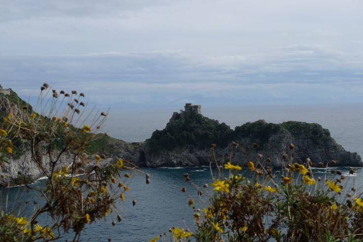 View from Conca dei Marini and the terrace of Hotel La Conca Azzurra