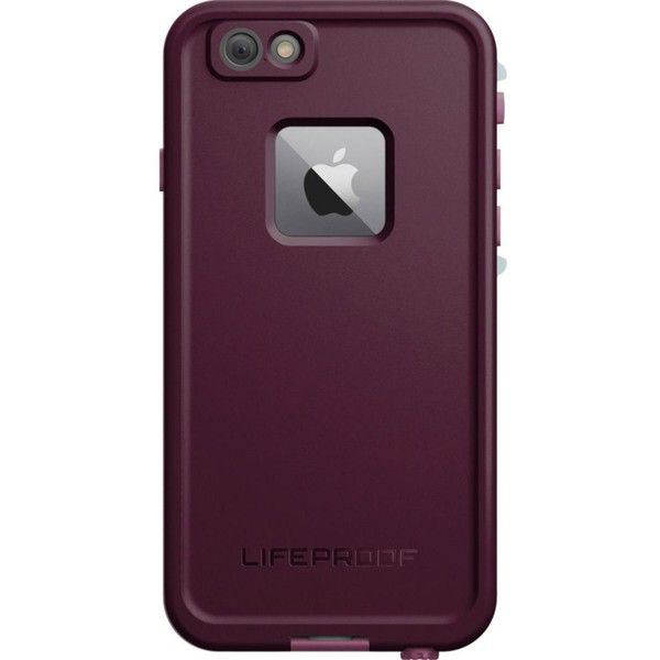 LIFEPROOF FRĒ WaterProof iPhone 6s case ($81) ❤ liked on Polyvore featuring accessories and tech accessories