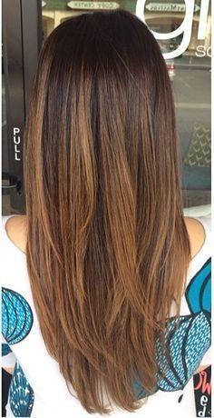 latest balayage hair color ideas Complex balayage