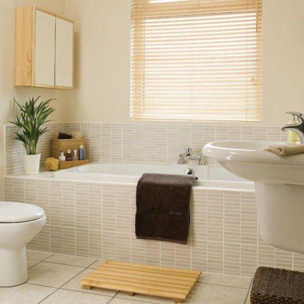 Тесных ванных комнат не бывает, есть не правильно использовано пространство интерьера. 😏🛀 Специалисты утверждают, что выбор интерьера любой ванной комнаты должен начинаться с выбором настенной и напольной плитки, ведь от этого будет зависеть весь дальнейший образ. 👈 Для небольшой ванной площади великолепно подойдет небольшая #плитка, это визуально увеличит ее. #смесители #сантехника