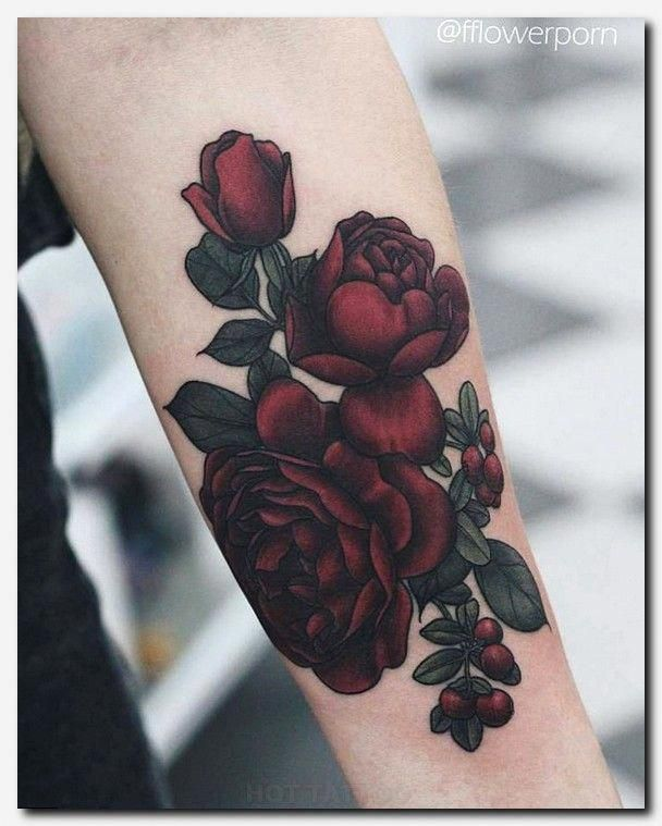 Arm Rose Tattoo Designs On Paper