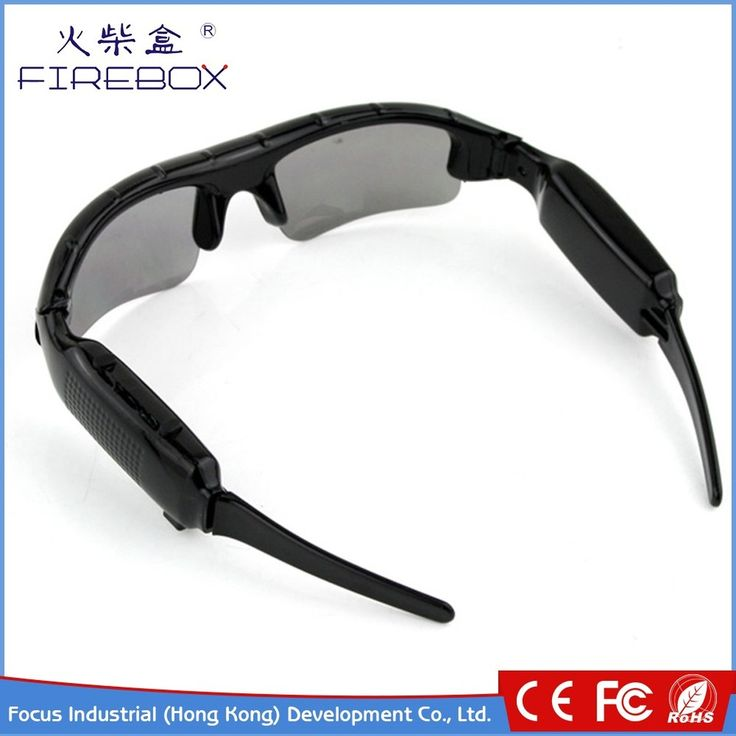 2016 high quality spy cam sunglasses with video camera, HD hidden sun glass spy camera