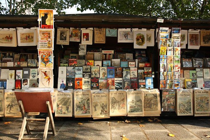 Bouquinistes: these green, Seine-side booksellers are a Paris institution and worth the stop. Pick up second-hand French books, vintage fashion magazines, collectibles and potential treasures.