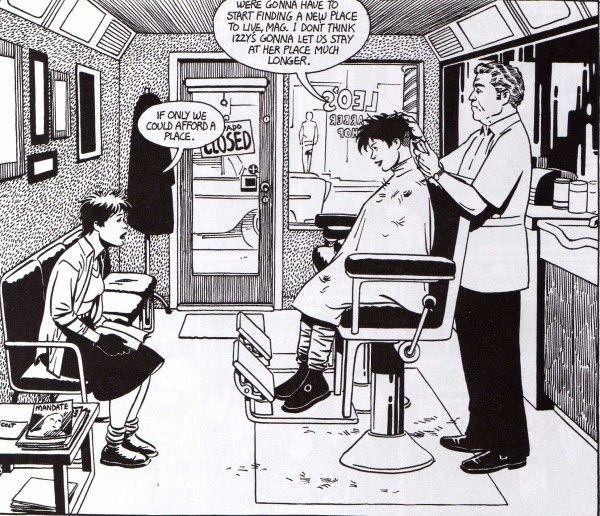 Love and Rockets: Graphics Novels, Sequenti Art, Jamie Hernandez, Alternative Comic, Jaime Hernandez, Brother Hernandez, Graphics Living, Comic Art, Cartoon Fashion